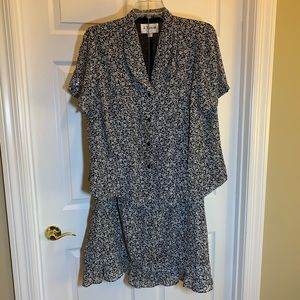 J. Taylor Top and Skirt Set Size 20WP